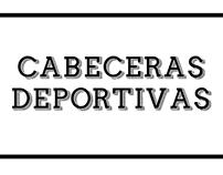 Cabeceras Deportivas