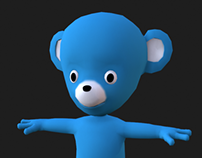 Game Character - Teddy Bear