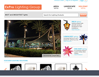 ExPro Lighting Group Website