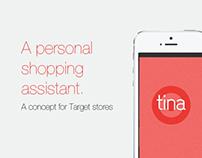 Tina: Target Shopping Assistant - Concept