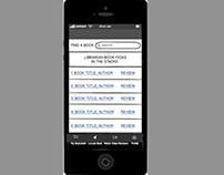 Librarian Book Recommendation Phone App