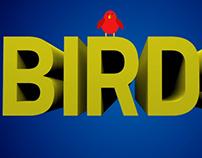 I Like Birds - kinetic type