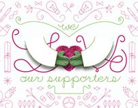 MIFA | Valentine Postcard