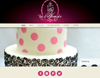 Cake Designer Website