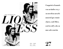 Doble página de revista