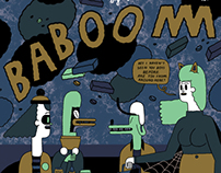 BABOOM! Issue Two Cover