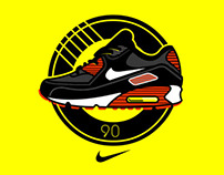 NIKE - AIR MAX 90 T-shirt Collection
