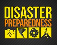 Disaster Preparedness Infographic Poster