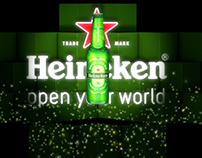 Heineken Room Chile Mapping show & Vj Loops
