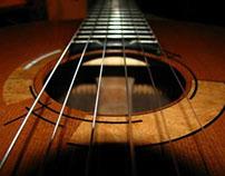Classical Guitar - Modern Rosette