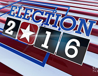CBN News 2016 Election Graphics Package