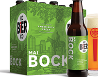 KC Bier packaging Labels Illustrated by Steven Noble