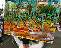 MAY DAY PROTEST (Street Performance) Los Angeles
