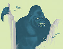 KONG, the Ape Wonder of the World!