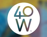 40 West Arts District Web Design