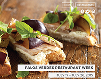 Palos Verdes Restaurant Week Website