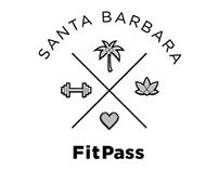 Santa Barbara FitPass Branding Iterations