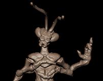 Mantis-man