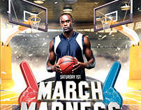March Madness - Basketball Flyer Template