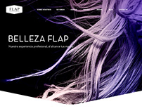 Hair Care Web Design