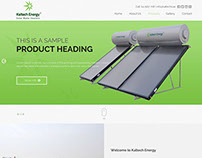 Kaltech Energy - Wordpress Website