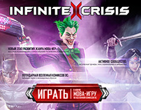 Infinite Crisis Promo Teaser CRISISCOMING.RU