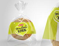 Живой хлеб. Яркий брендинг для линейки европейских