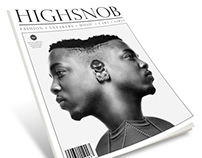 HIGHSNOB Magazine (Final Exam Project)