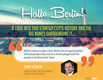 Rise of Berlin Startups : Infographic