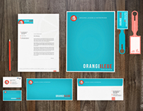 TRAVEL AGENCY BRANDING - ORANGE BLEUE VOYAGES