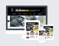 NGV Melbourne Now Responsive website, Android & iOS App