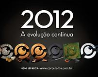 Calendário 2012 - Corcerama Distribuidora de Autopeças