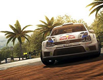 WRC 4 //PS3/X360/PC Games Art Direction