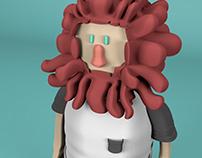 Personagem 3D - Leon!