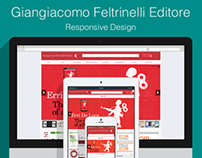Responsive design & development for Feltrinelli Editore