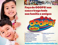 Anúncio OOOPS! Buffet