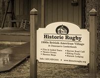 SET Vstr Cntr  Historic Rugby Tn 1880's Brit-Amer Town
