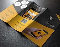 Mobile App Tri-Fold Presentation Brochure