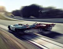 Porsche 917 vs Ferrari 512