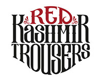 Red Kashmir Trousers