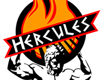 Hercules Barbecue Logo