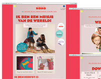 Web design development Nono kids fashion