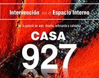 Intervencion en el Espacio Interno Galería Casa 927