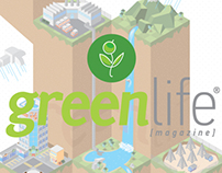 Portada green life magazine #7