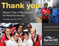 Mayor's Day of Recognition for National Service