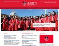St. John's University Redesign