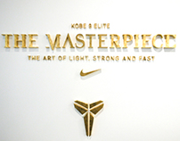 KOBE 9 ELITE, The Masterpiece, Nike Vault, Los Angeles