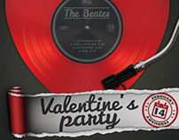 Valentine's Party Flyer Template III