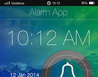 Alarm App for Iphone5 Mobile Phones