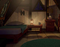Gravity Falls Bedroom